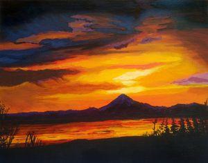 Sunset on the Kenai - KS Donaldson