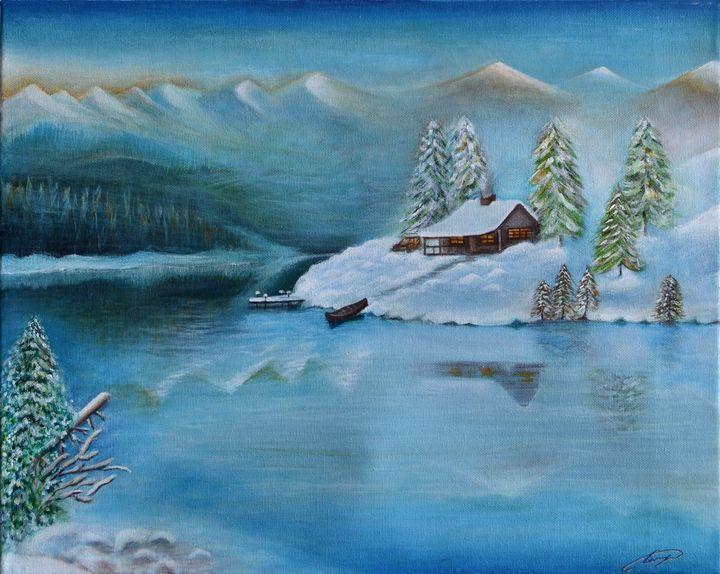 Cottage in Quebec - George Khayat Art