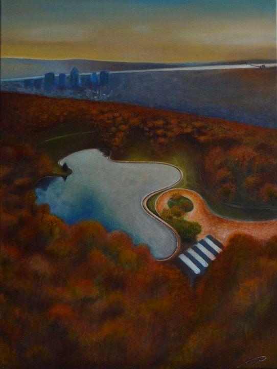 Beaver Lake Montreal - George Khayat Art