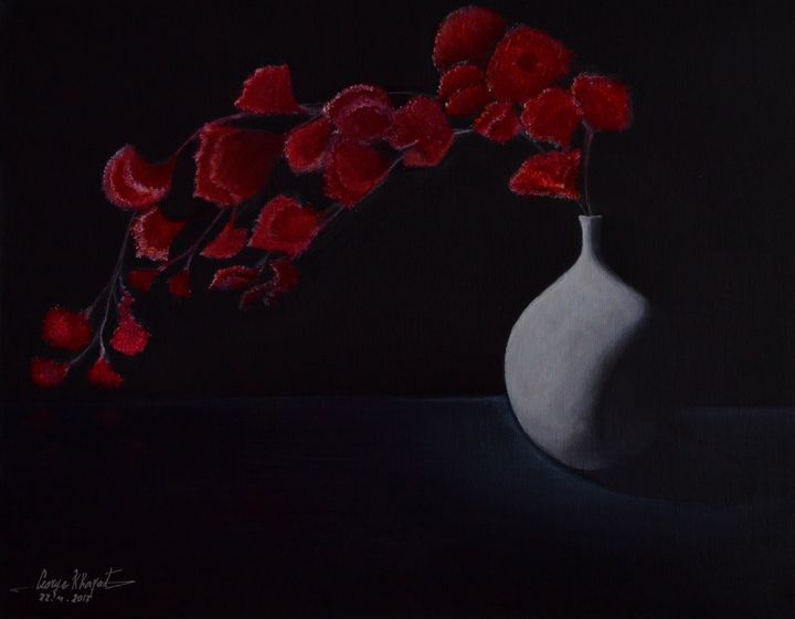 Red Bouquet - George Khayat Art