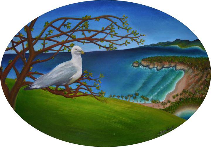 Seagull Spirit - George Khayat Art