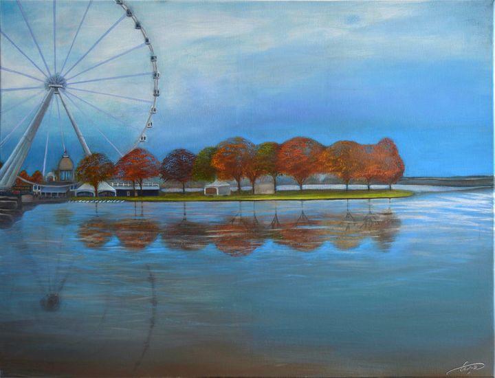 Montreal's Grand Ferris Wheel - George Khayat Art