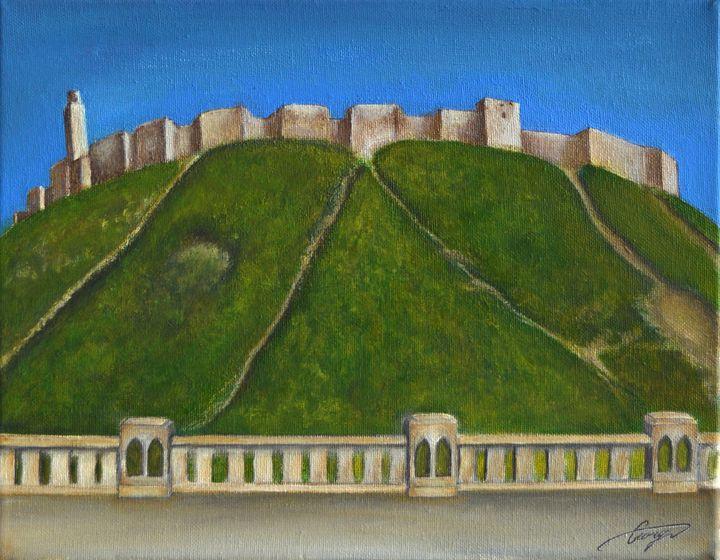 Aleppo Castle - George Khayat Art