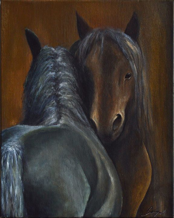Horses whispers - George Khayat Art