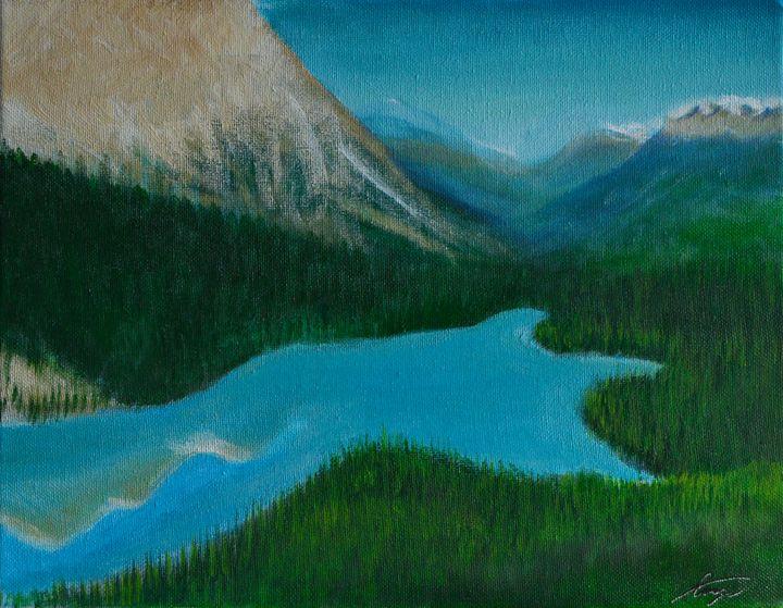 Peyto Lake ''Banff ''Alberta, Canada - George Khayat Art