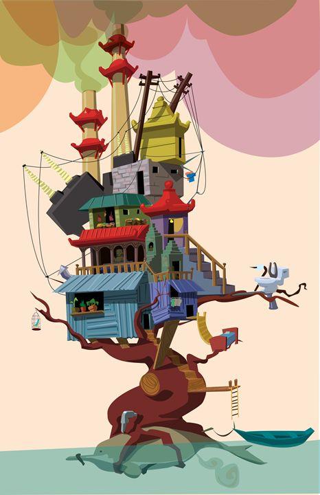 tree house - Nick D'Attomo