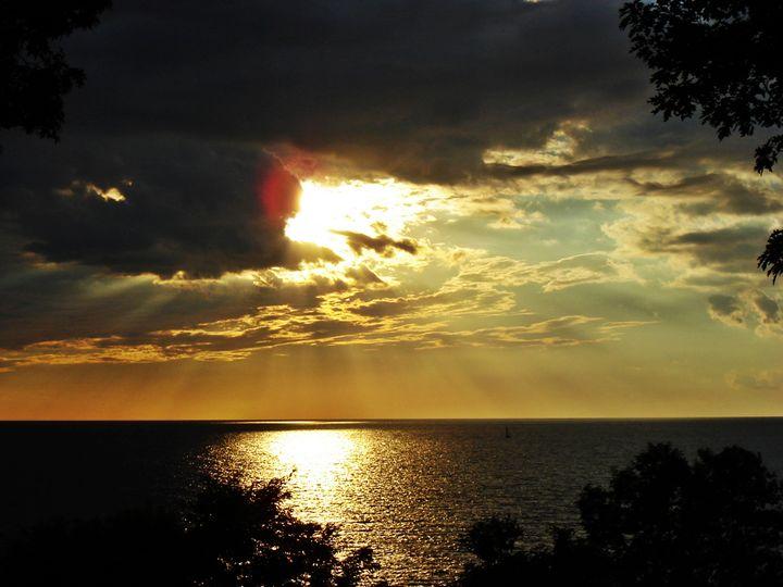 Sunset over Lake Michigan - ThomasW Photography