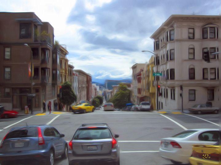 San Francisco 1_2010 - Digital Paintings And Photos by Alfred Trerotola