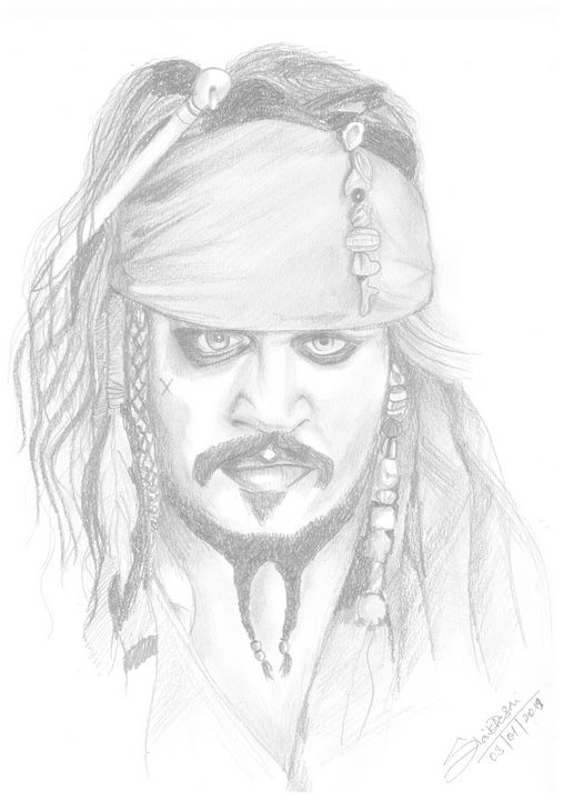 Jack Sparrow - Siddhi's Art work