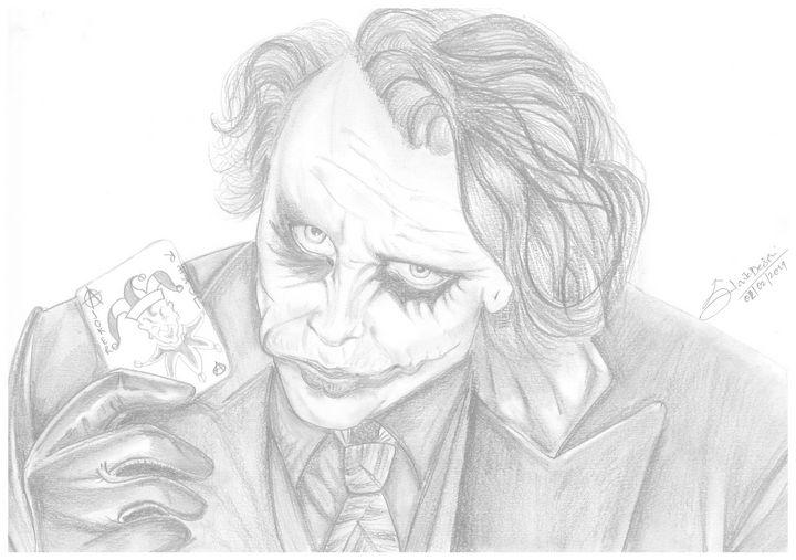 Joker - Siddhi's Art work