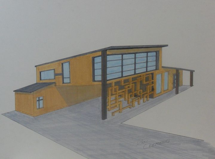 Mid-century/Modern House - Clements Creations