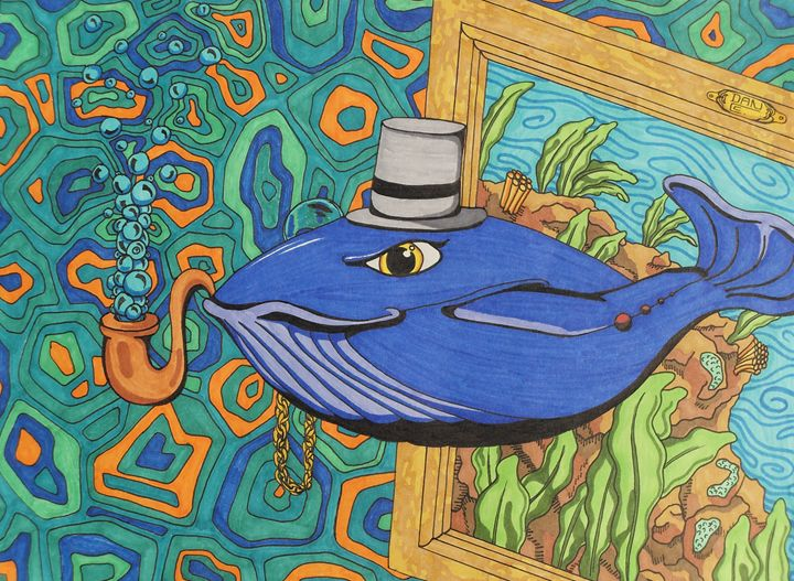 Classy Whale - Clements Creations