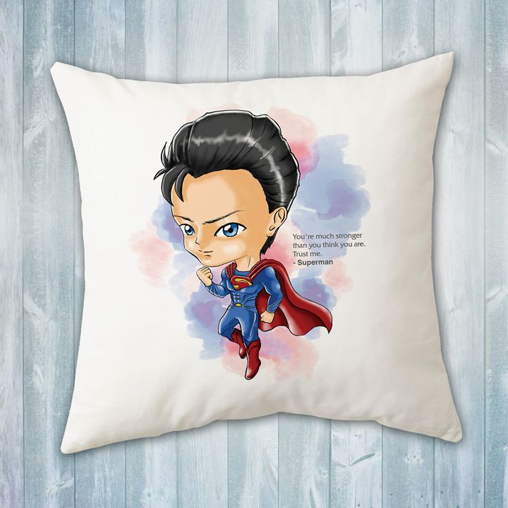 Chibi Superman Pillow - Evershades