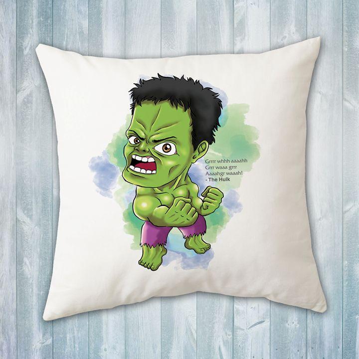 Chibi Hulk Pillow - Evershades