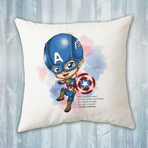 Chibi Captain America Pillow