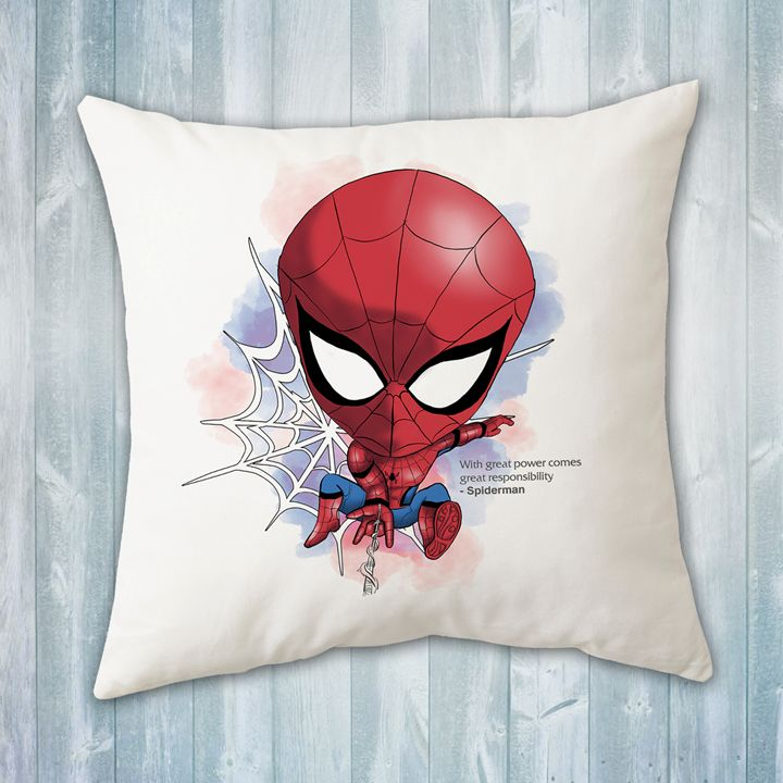 Chibi Spiderman Pillow - Evershades