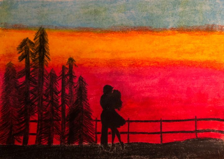 Kisses at sunset - Kristy's colours
