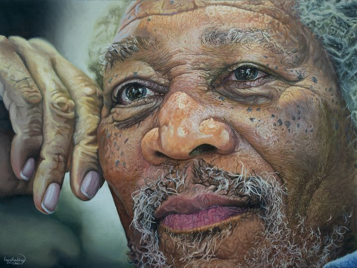 Morgan Freeman (The Face of God) - Evan Arking