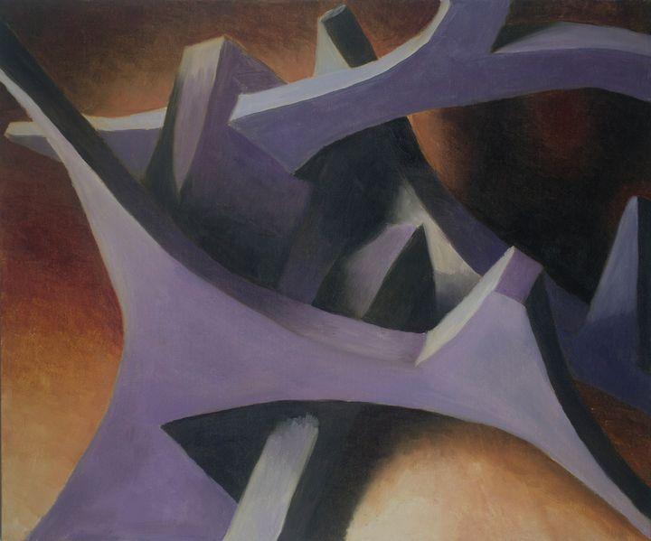 Abstract: Foam Pieces - Evan Arking