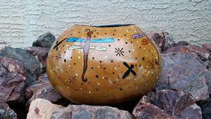 Arizona Luminary Dragon Fly Gourd