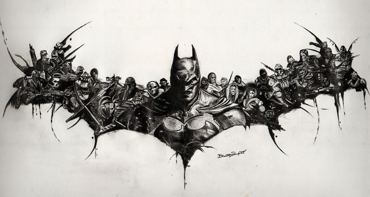 The dark knight - Graphite Experiments