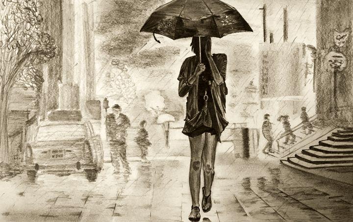 Bombay girl - Graphite Experiments