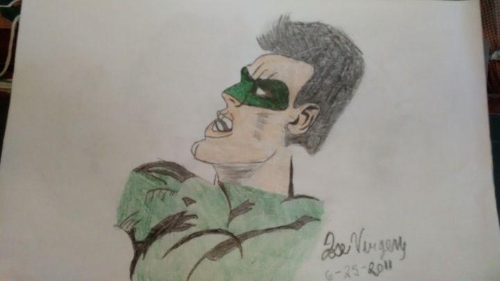 Green Lantern - Jose Virgen