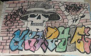 Pachuco skull