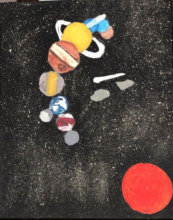 Space universe - Jose Virgen