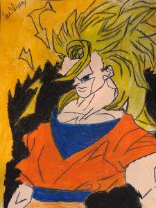 Goku super saiyan 3