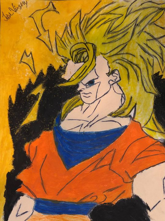 Goku super saiyan 3 - Jose Virgen