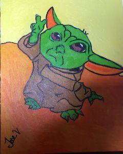 Baby yoda or grogu