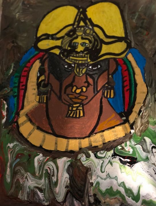 Aztec warrior - Jose Virgen