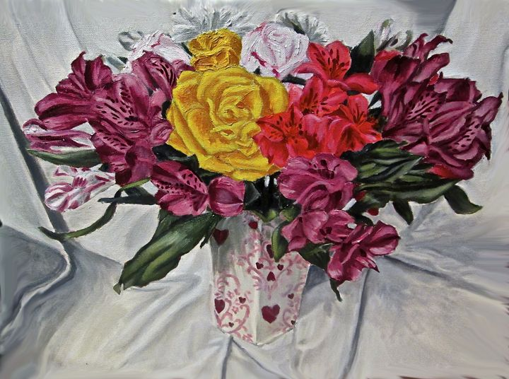 Mother's Day Flowers - The Autistic Artist