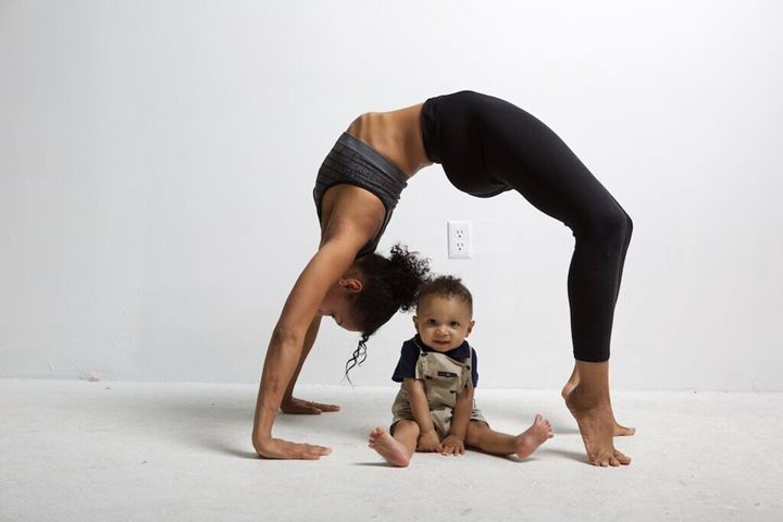 Balance with child -  Taquelamcgee