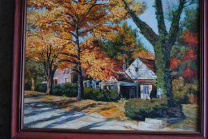 Autumn morning on Second street