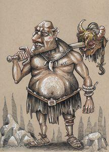cave man cartoon