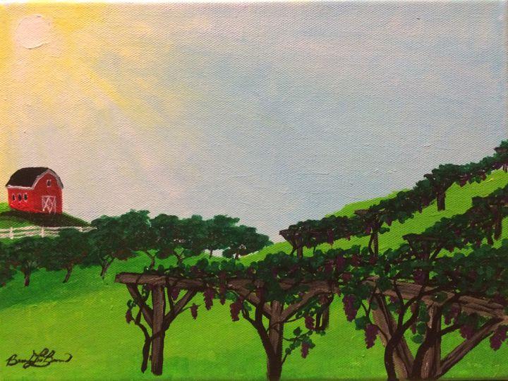 Grape Vines and Apple Trees - Brandon Burns