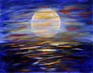 sleepless moon