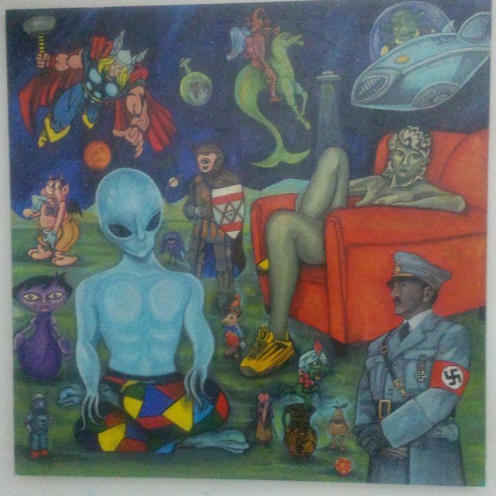 Profecies - Pop Surrealism by Antonio Vitale
