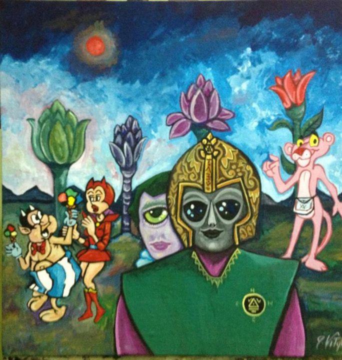 Per Amore.. - Pop Surrealism by Antonio Vitale