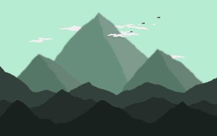 Distant mountains - Peksiak