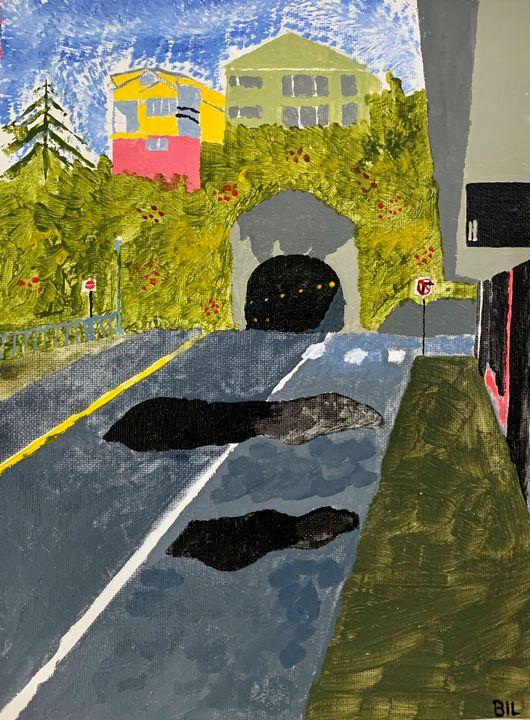 Downtown Ketchikan - Artworks by BIL