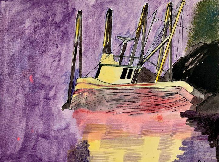 Alaska Shipwreck - Artworks by BIL