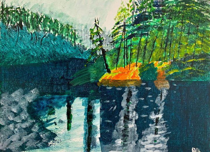 Southern lake - Artworks by BIL
