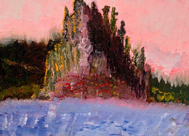Misty Fjords Island - Artworks by BIL