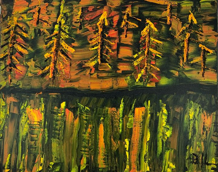 Forest Fire - Artworks by BIL
