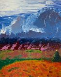 mountains in Denali, AK