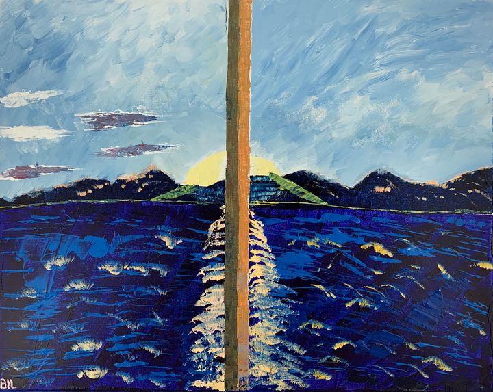 Alaskan cruise - Artworks by BIL