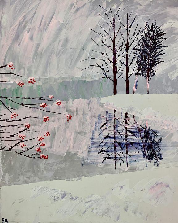 Frozen Lake - Artworks by BIL